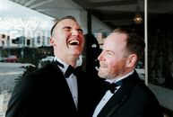 Sam and Paul's wedding in the northern suburbs of Melbourne, Australia, was 21 years in the making and, to celebrate their decades-long romance, the c
