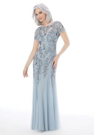 MGNY 72211 Blue Mother Of The Bride Dress