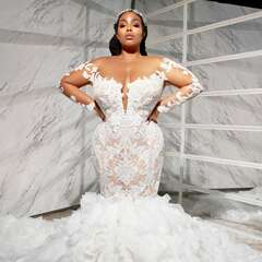 14 Black Wedding Dress Designers to Follow Now