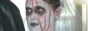 Halloween Wedding with Zombie Bride