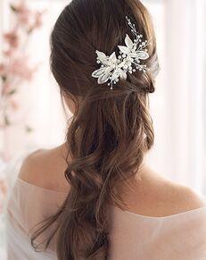 Dareth Colburn Daniela Pearl Bridal Clip (TC-2278) Silver Pins, Combs + Clip