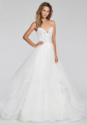 Blush by Hayley Paige Pepper-1700 Ball Gown Wedding Dress