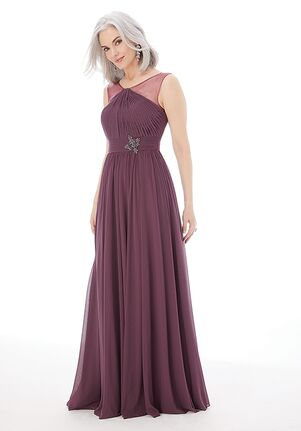 MGNY 72222 Blue Mother Of The Bride Dress