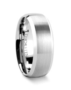 Mens Tungsten Wedding Bands W338-DBT Tungsten Wedding Ring