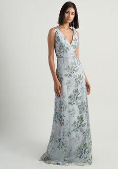 Jenny Yoo Collection (Maids) Tatum V-Neck Bridesmaid Dress