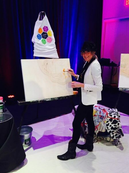 Brandi Cottingham Art Meets World  - Motivational Speaker - Dallas, TX