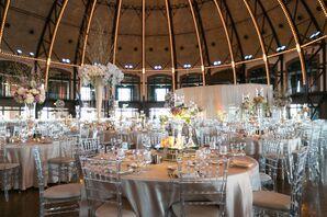 Glam Modern Navy Pier Aon Grand Ballroom Reception
