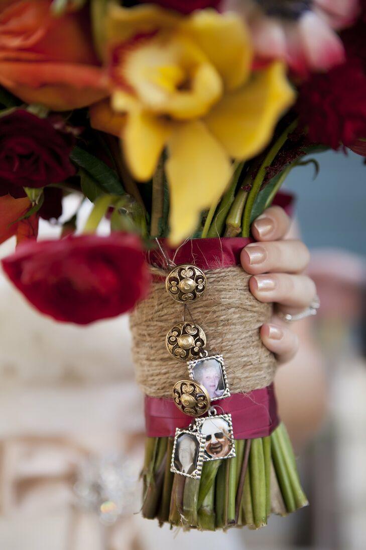 Bridal Bouquet Memorial Charms