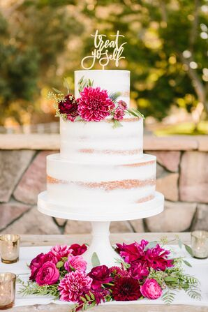 Whimsical Naked Cake