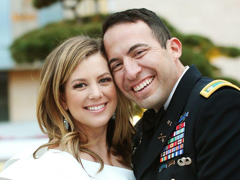 Brianna Keilar and Fernando Lujan wedding photo