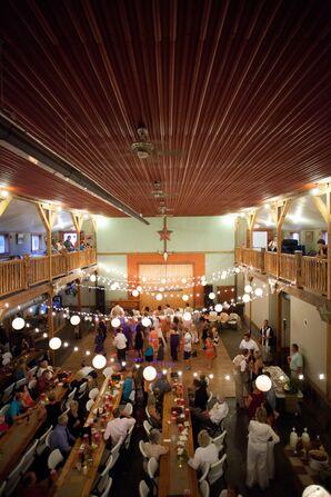 Casual Indoor Reception