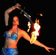 Landing, NJ Fire Dancer | Hips of Fire Entertainment