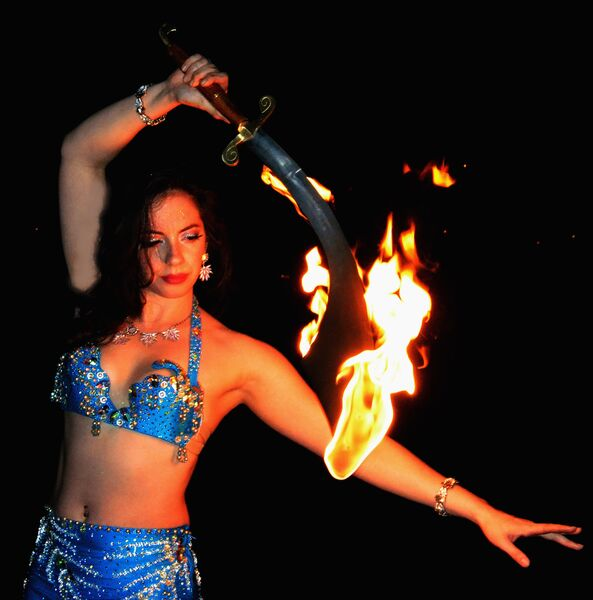 Hips of Fire Entertainment - Fire Dancer - Landing, NJ