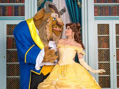 Beauty and the Beast costumes at Walt Disney World