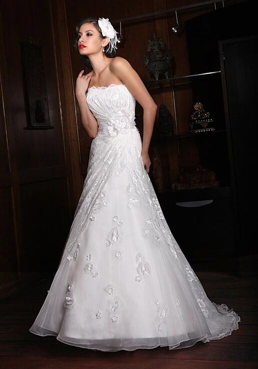 Impression Bridal 10125 A Line Wedding Dress