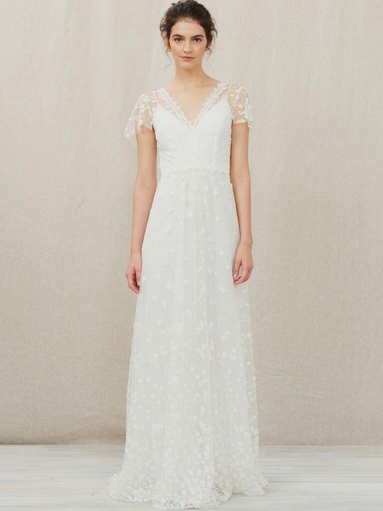 understated bridal dresses