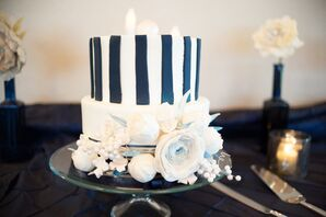 Preppy Wedding Cake