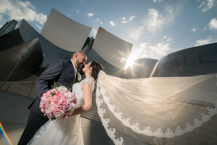 Kristen Savage (27 and a public health policy analyst) and Michael Marzouk (29 and a president and CEO for Alerts Systems Group) wanted their wedding