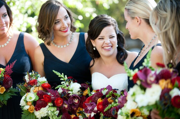 Lush Burgundy, Red Bouquets
