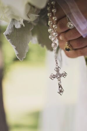 Traditional Religious Catholic Bouquet Wrap