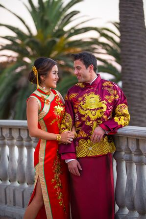 Colorful, Multicultural Chinese Ceremony