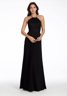 Hayley Paige Occasions 5715 Halter Bridesmaid Dress