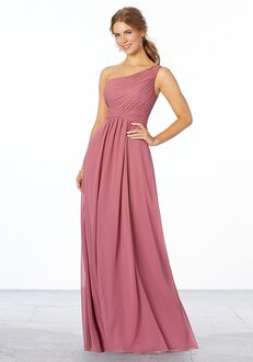 Morilee by Madeline Gardner Bridesmaids Style 21662 One Shoulder Bridesmaid Dress