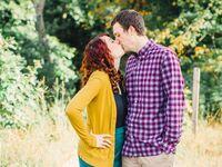 Michael and Sarah engagement photo