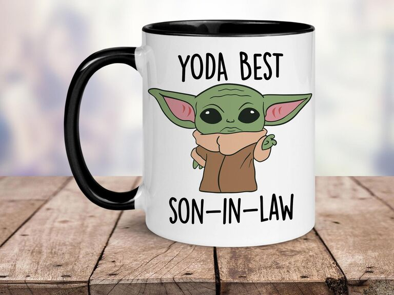 Yoda Best Son-In-Law mug gift