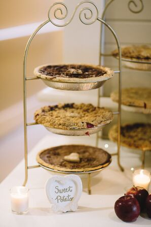 Dessert Table with Pie Bar