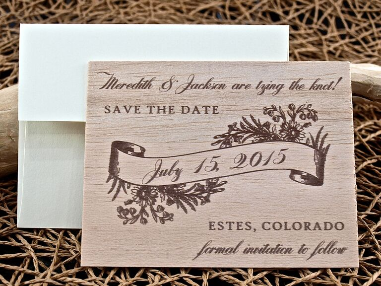25 SavetheDate Ideas We Love and Where to Buy Them