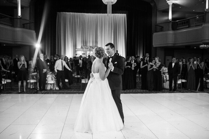 "Kate and Chris were very particular about the meaningful music played throughout their wedding day, including their first-dance song: ""Carmen's Lullaby"" by Joshua Panda."