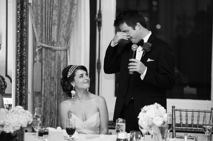 Nicole and Eric, Reception Toasts
