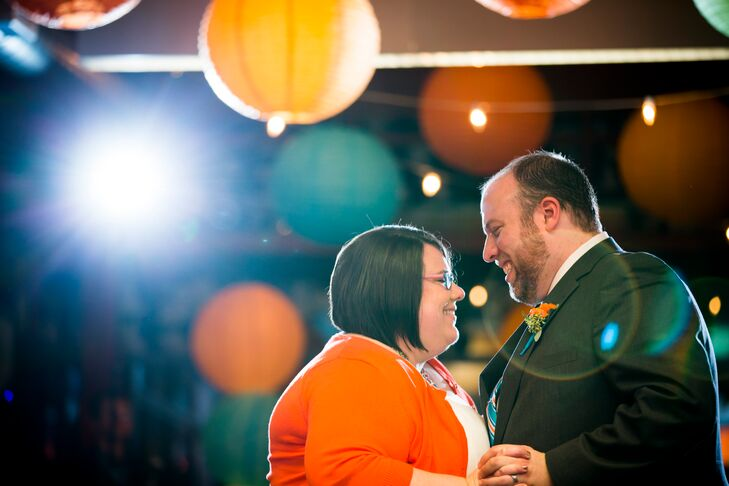 "Suzette and Brad's first dance, ""Swept Away"" by the Avett Brothers, inspired the theme for the entire wedding."