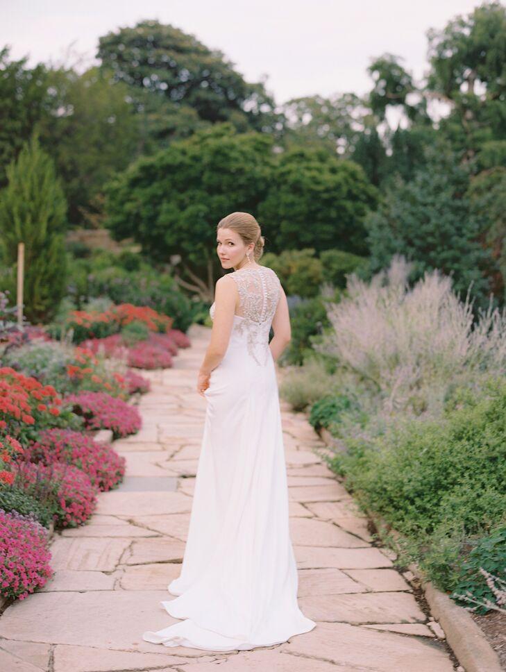 White Anna Maier Wedding Dress