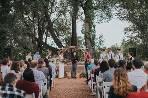 Outdoor Ceremony in New Mexico
