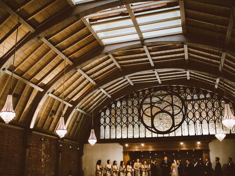 Wedding venue in Long Beach, California.