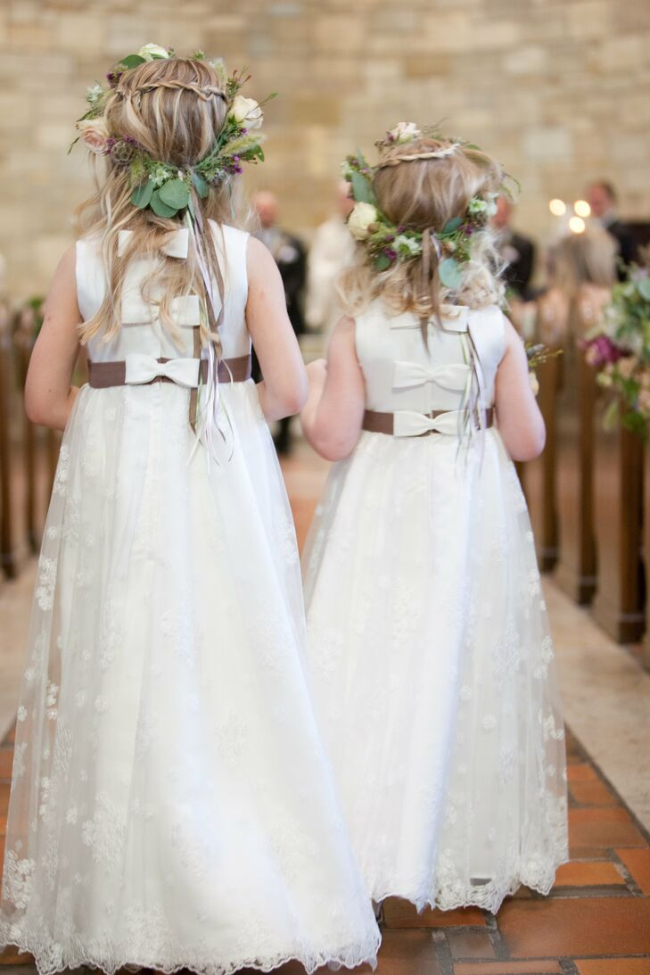 Rustic Floral Flower Girl Headpieces af315cbbe2b