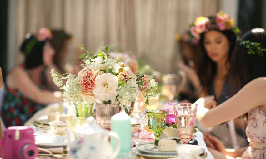 Vintage Tea party themed inspiration and ideas