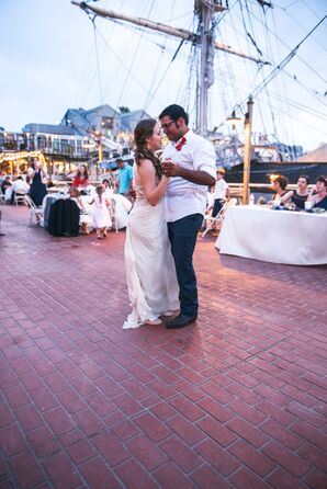 First Dance on Dock at Texas Seaport Museum