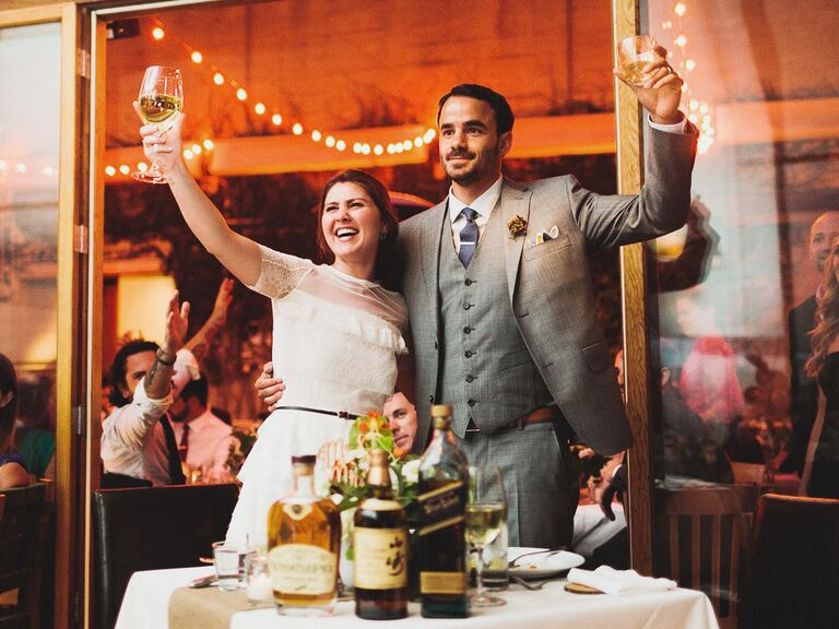 Wedding Speeches Best Time For Wedding Reception Toasts