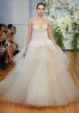 Monique Lhuillier Fleur Ball Gown Wedding Dress