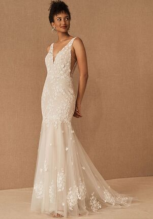 BHLDN Nikola Gown Mermaid Wedding Dress