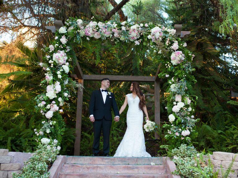 Wedding venue in Simi Valley, California.