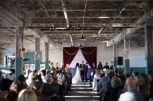 Wedding Ceremony Ford Piquette Avenue Plant