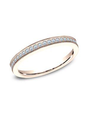 Benchmark 5425730R Rose Gold Wedding Ring