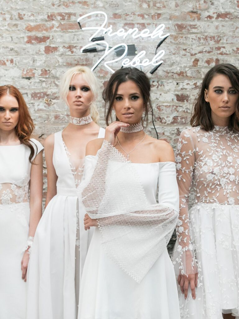 Rime Arodaky Fall 2018 Collection: Bridal Fashion Week Photos
