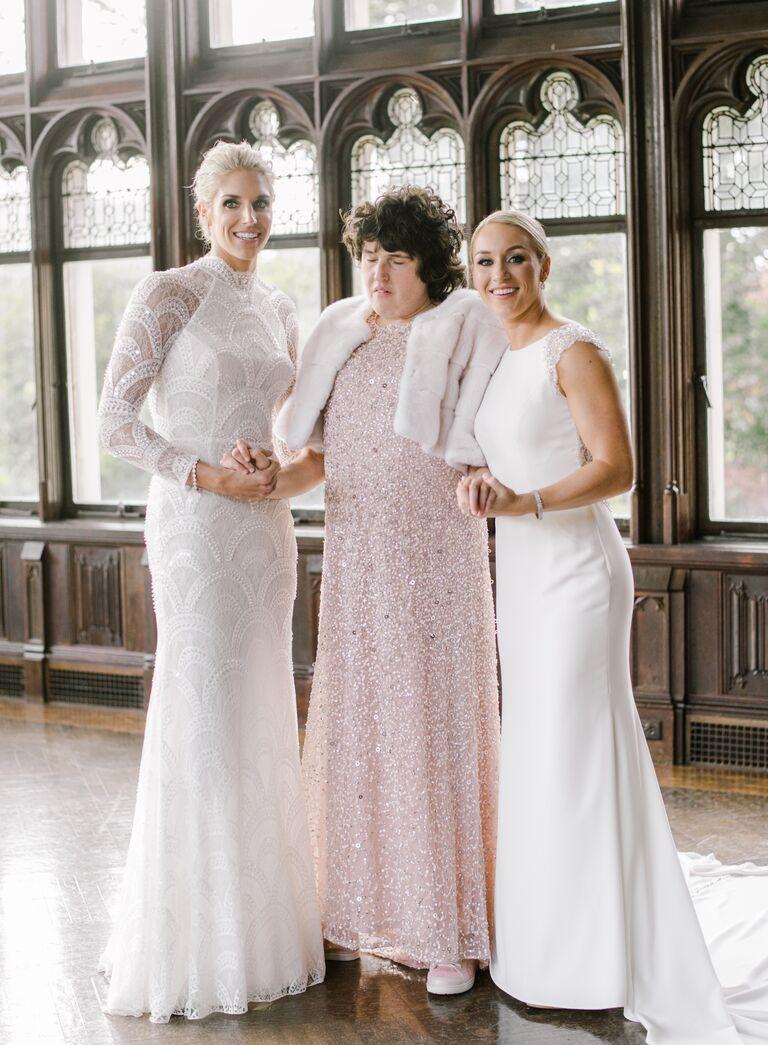 The Knot Dream Wedding 2017 Elena Delle Donne and Amanda Clifton