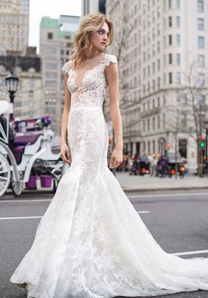 BLISS Monique Lhuillier BL19111 Mermaid Wedding Dress