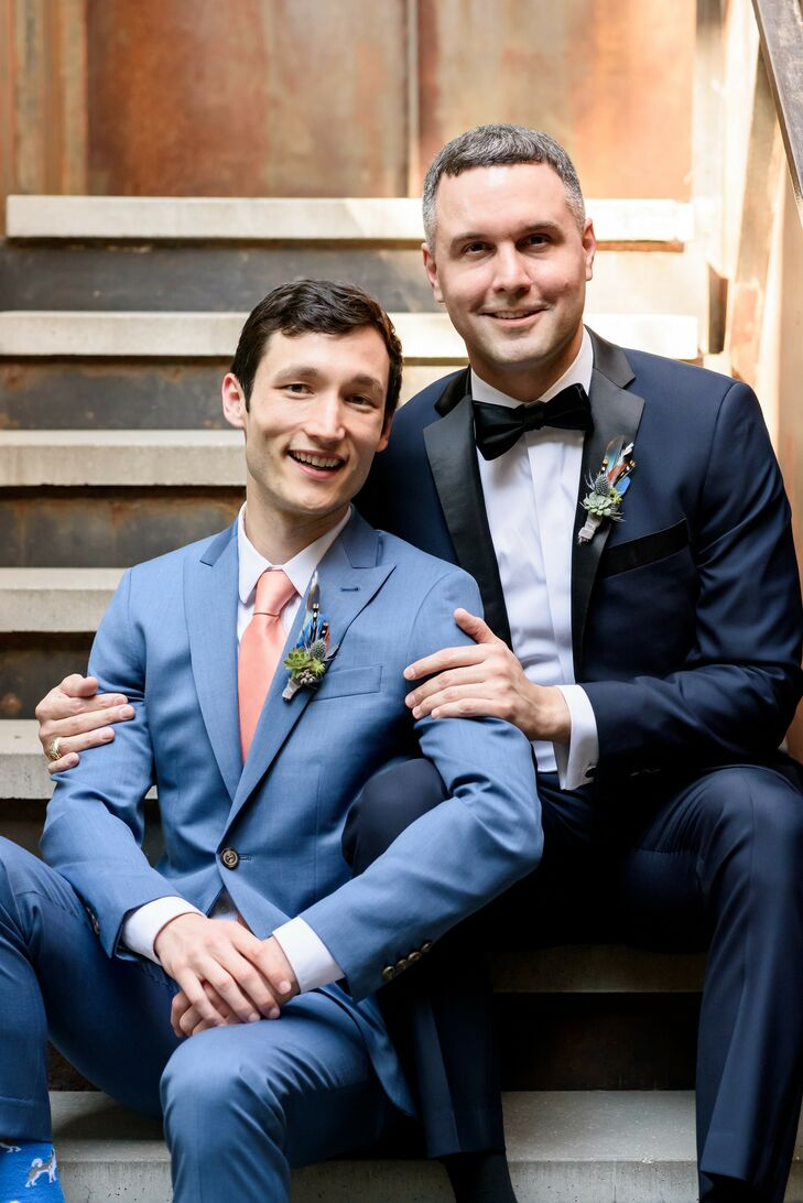 LGBTQ+ Couple Portraits at South Congress Hotel in Austin, Texas
